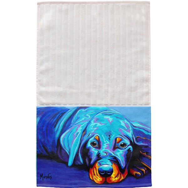 Rottweiler Multi Face Hand Towel (Set of 2) by East Urban Home