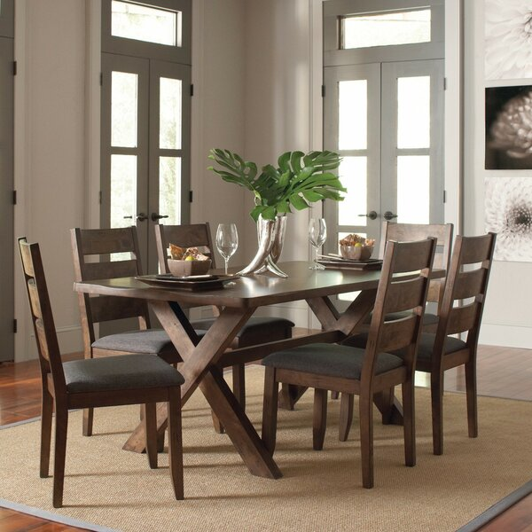 Toole 7 Piece Dining Set by Mistana