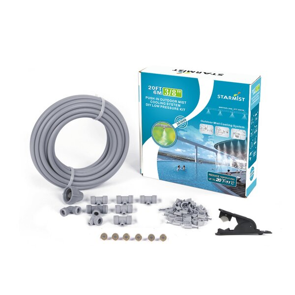 Push-In Mist Cooling Kit Hardware by STARMIST