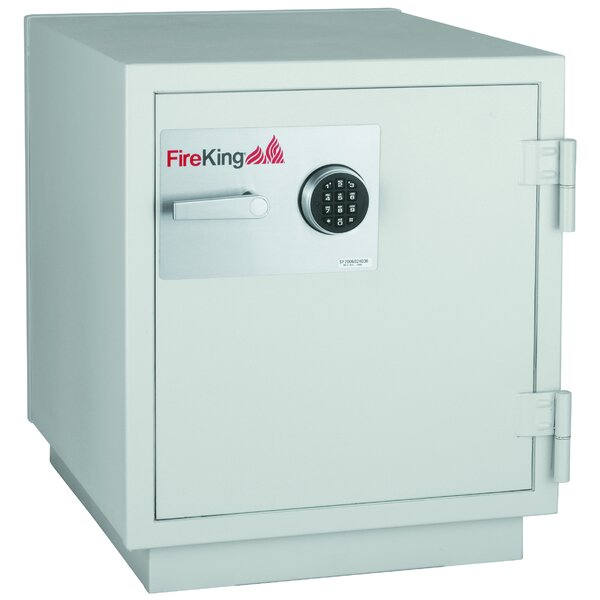3 Hr Fireproof Data Security Safe with Electronic Lock by FireKing
