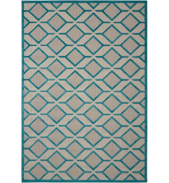 Blane Hand-Woven Blue Area Rug by Langley Street