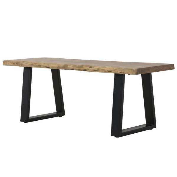 Berumen Wood Bench by Foundry Select