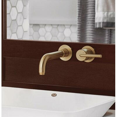 Faucet Wall Mounted Bronze photo