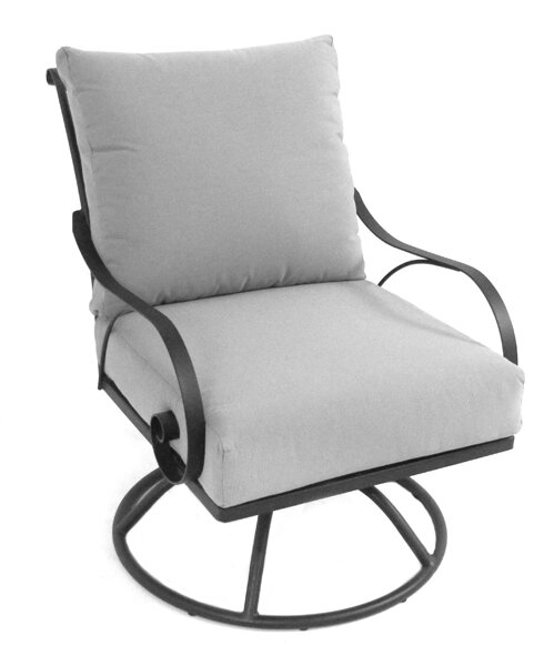 Monticello Patio Chair with Cushion by Meadowcraft