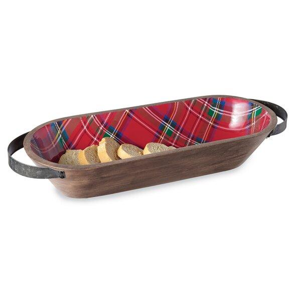 Tartan Bread Basket by Mud Pie™