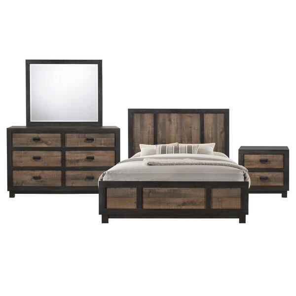 Llewellyn Standard 4 Piece Bedroom Set by Gracie Oaks