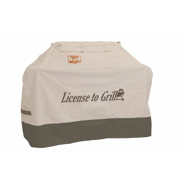 Small Universal License to Grill Grill Cover - Fits up to 58 by Yukon Glory