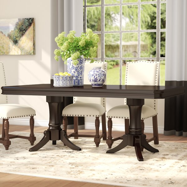Rheems Extendable Dining Table by Alcott Hill