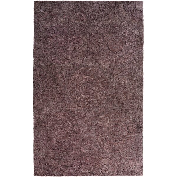 Oss Hand Tufted Synthetic/Wool Purple Area Rug by Bungalow Rose