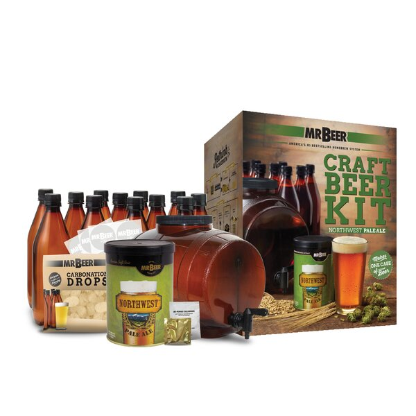 Mr. Beer Northwest Pale Ale Complete Craft Beer Making Kit by Mr. Beer