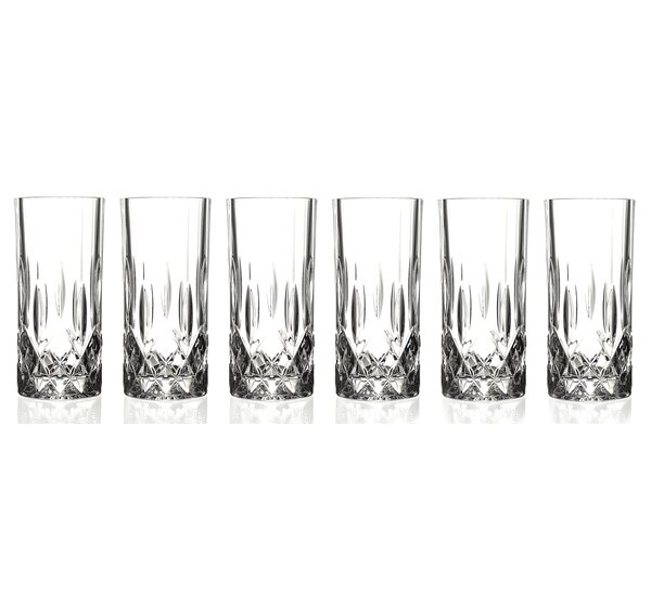 Opera RCR Crystal Highball Glass (Set of 6) by Lorren Home Trends