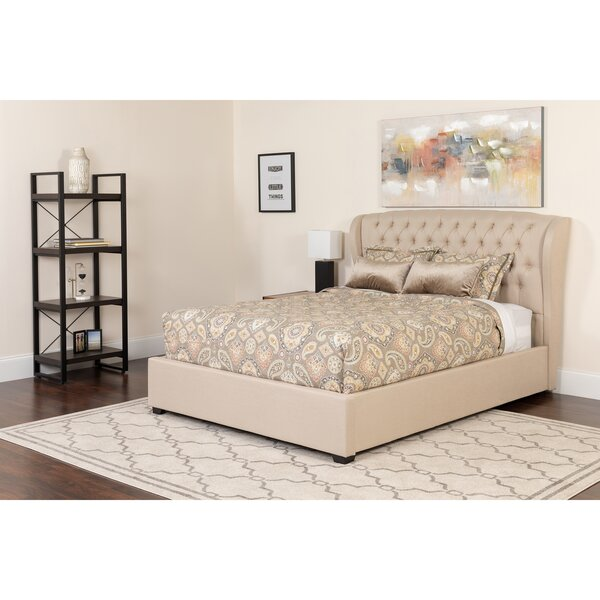 Amann Tufted Platform Bed by Darby Home Co