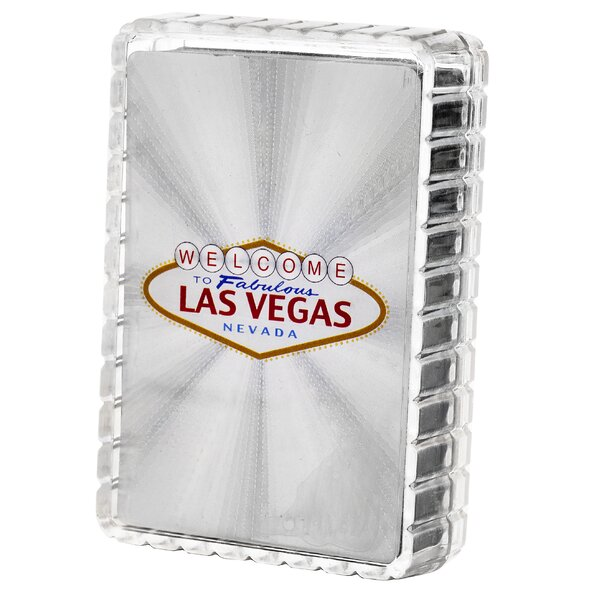 Welcome to Las Vegas Playing Card by Las Vegas Style