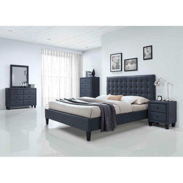 Hackleburg Queen Upholstered Standard Bed by Ebern Designs Ebern Designs