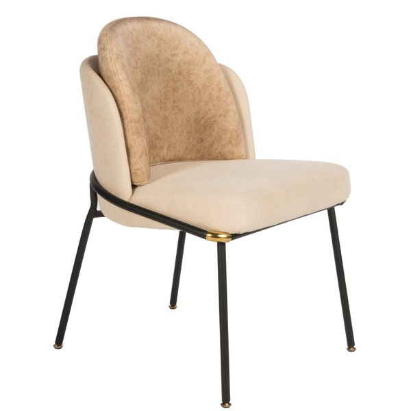 Buckner Upholstered Dining Chair (Set of 2) by Union Rustic