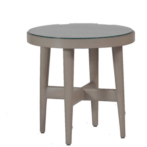 Wind Wicker/Rattan Side Table by Summer Classics