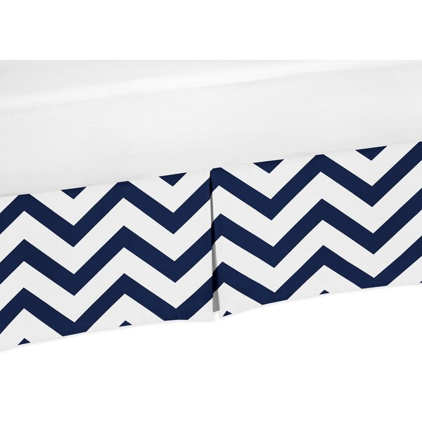 Chevron Crib Skirt by Sweet Jojo Designs