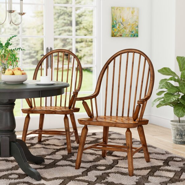 Brumiss Bow Back Arm Chair by Gracie Oaks
