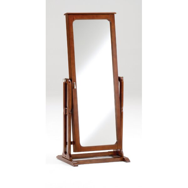 Hughesville Free Standing Jewelry Armoire With Mirror By Darby Home Co