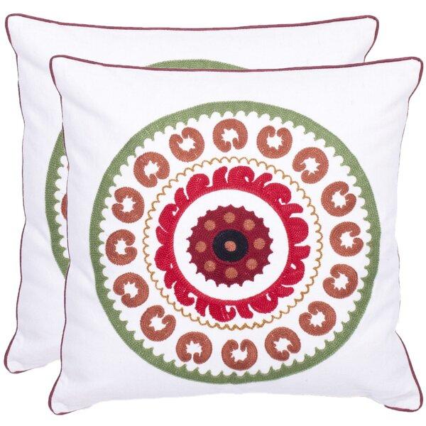 Cotton Throw Pillow (Set of 2) by Safavieh