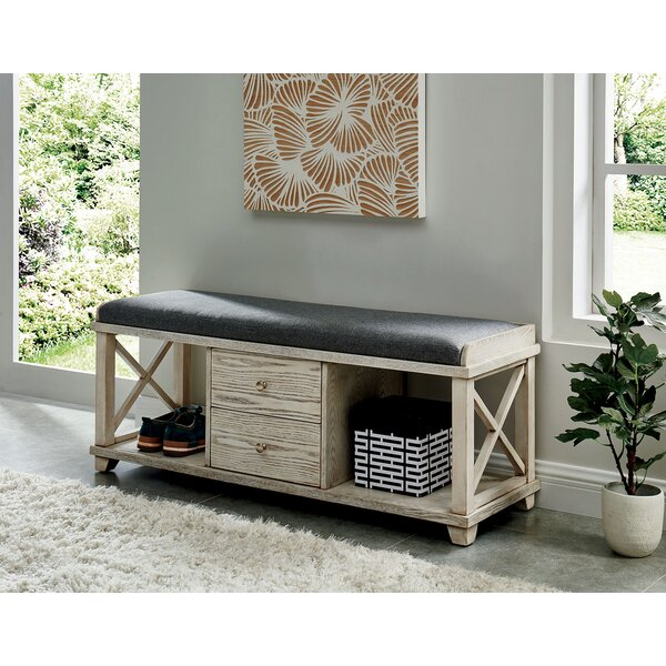 Flor Upholstered Storage Bench