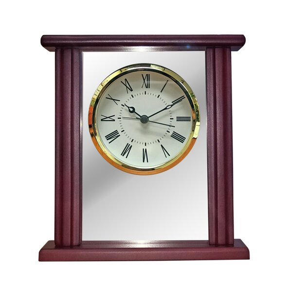Desk Tabletop Clock by Charlton Home