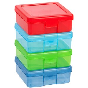 Small Modular Supply Plastic Craft Case