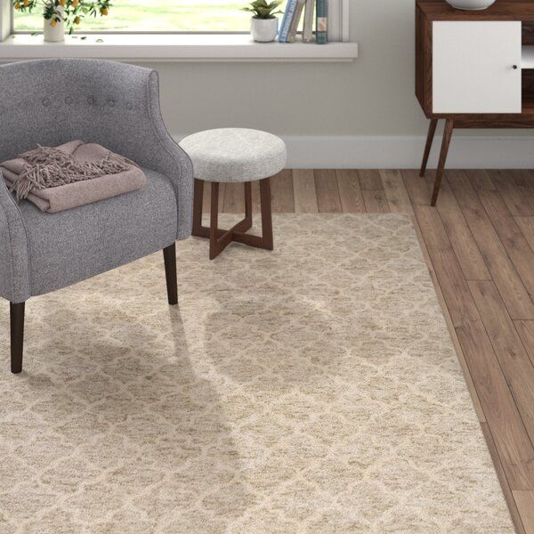 Sylvie Light Gray/Taupe Area Rug by Langley Street