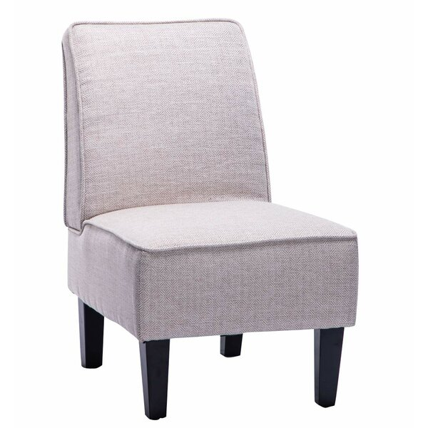 Armless Upholstered Slipper Chair by Andeworld