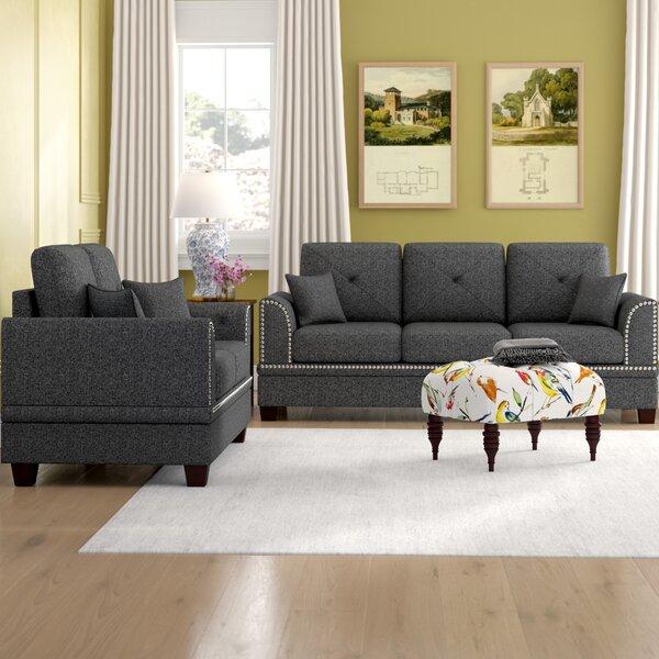 Champine 2 Piece Living Room Set by Alcott Hill Alcott Hill