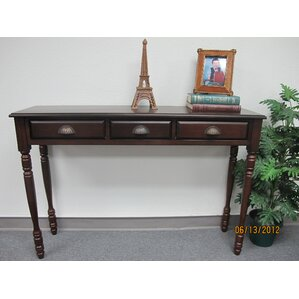 Mahogany Console Table by D-Art Collection