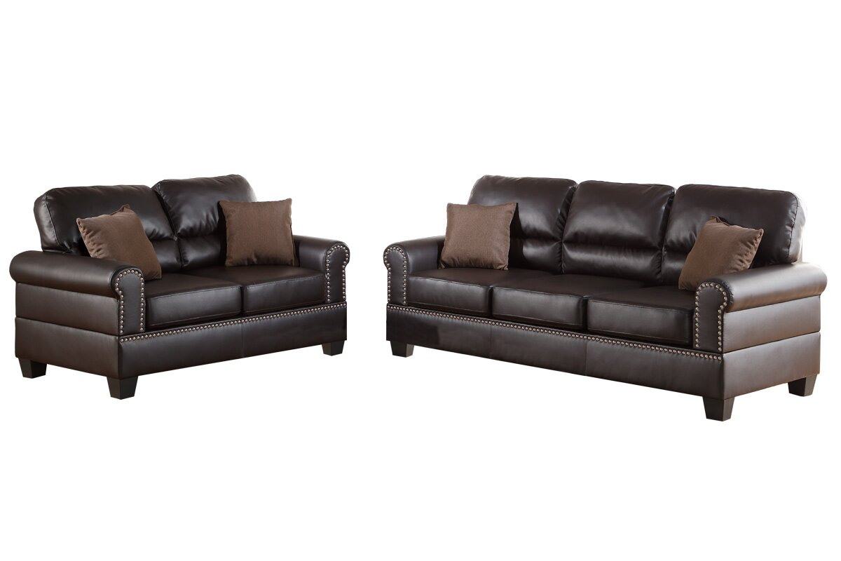 Charlton Home Boyster 2 Piece Living Room Set U0026 Reviews | Wayfair