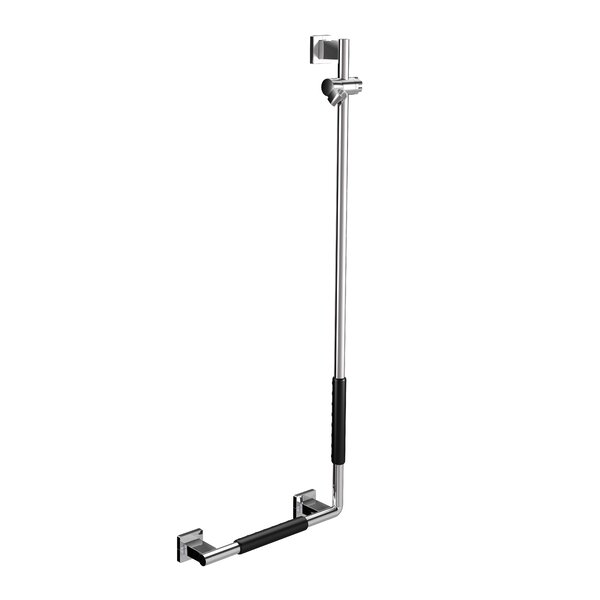 System Left Shower Holder Bar by WS Bath Collections