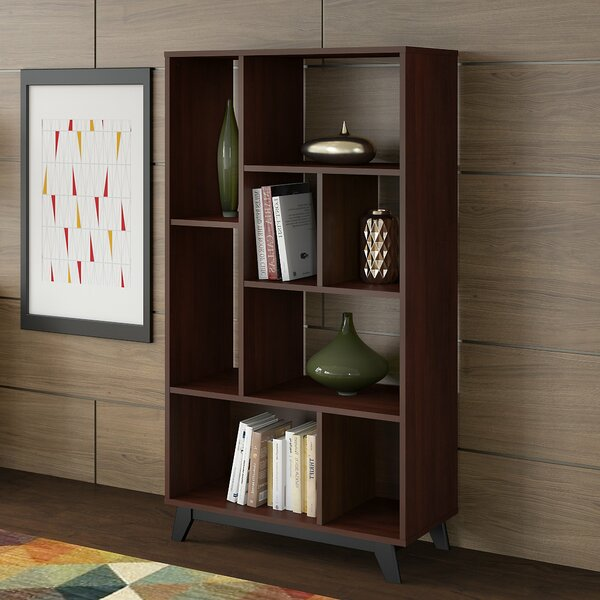 Centura 8 Shelf Standard Bookcase By Kathy Ireland Office By Bush