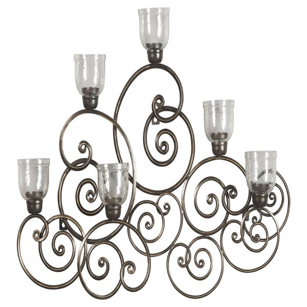 Metal Wall 6 Light Sconce by Astoria Grand