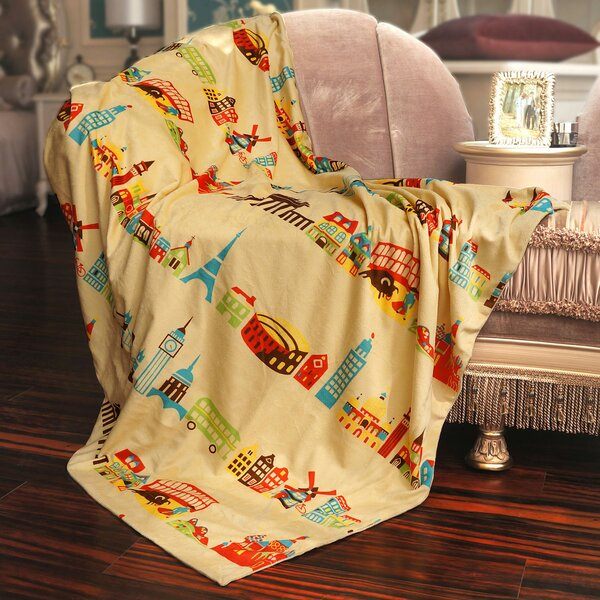Around the World Throw by BOON Throw & Blanket