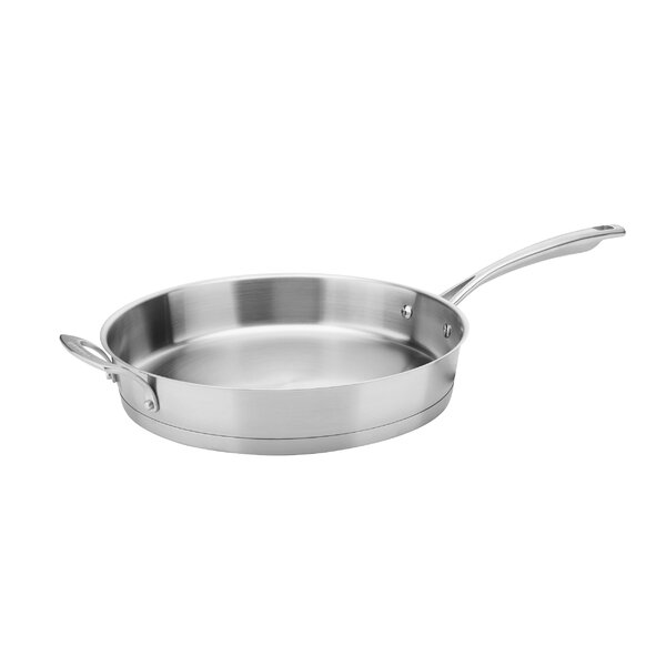 Conical Stainless Steel Induction 12 Skillet by Cuisinart