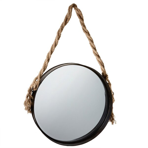 Round Accent Large Wall Mirror by Laurel Foundry Modern Farmhouse