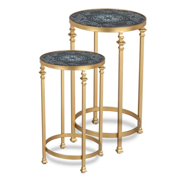 Mciver 2 Piece Nesting Tables by Bungalow Rose