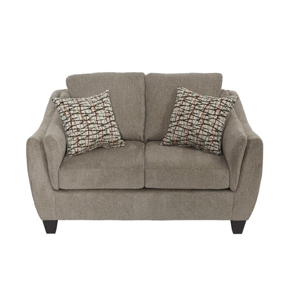 Expert Reviews Bartlett Serta Loveseat by Ivy Bronx by Ivy Bronx
