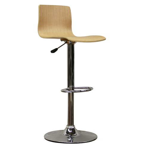 Utley Adjustable Height Swivel Bar Stool by Orren Ellis