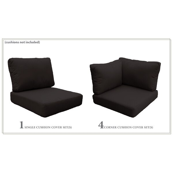 Fairfield 14 Piece Indoor/Outdoor Cushion Cover Set by Sol 72 Outdoor Sol 72 Outdoor