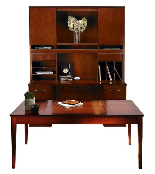 Sorrento Series 4-Piece Standard Desk Office Suite by Mayline Group