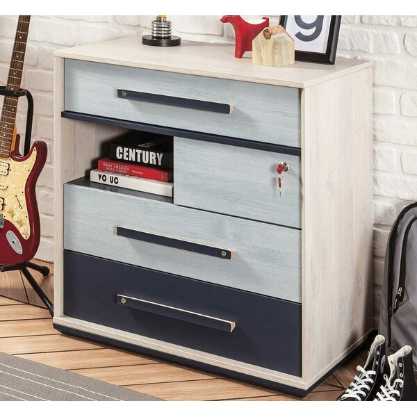 Holroyd 4 Drawer Bachelors Chest by Isabelle & Max