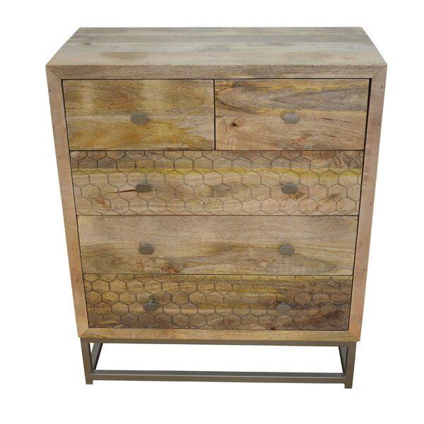 Stern 3 Drawer Accent Chest by Union Rustic