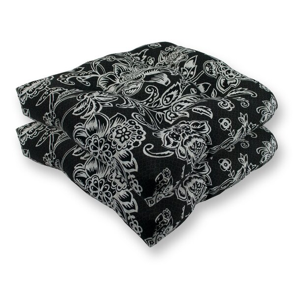 Riviera Indoor/Outdoor Dining Chair Cushion (Set of 2)