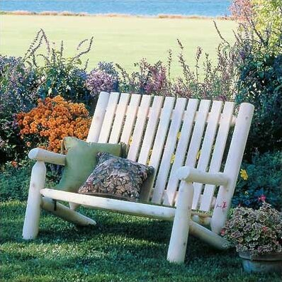 Chilton High Back Garden Bench by Loon Peak