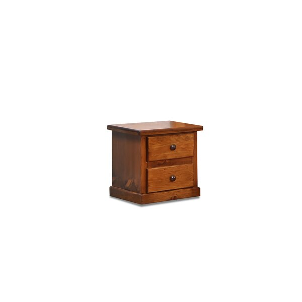 Hide Away 2 Drawer Nightstand by Chelsea Home Furniture