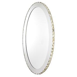 Top Reviews Oval Bathroom/Vanity Mirror ByEverly Quinn