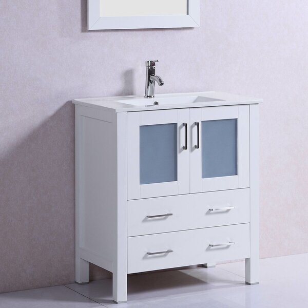 Modern Freestanding 30 Single Bathroom Vanity Set by Belvedere Bath